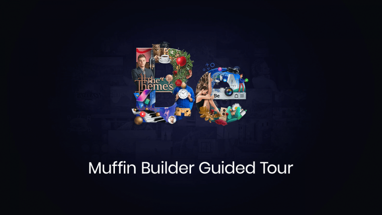 muffin builder guided tour