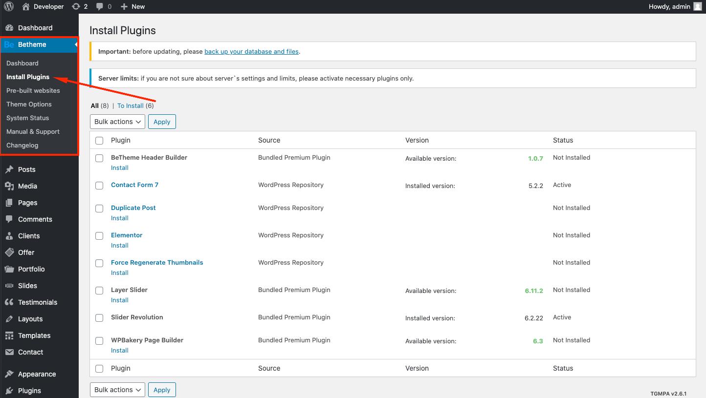 getting started bundled plugins