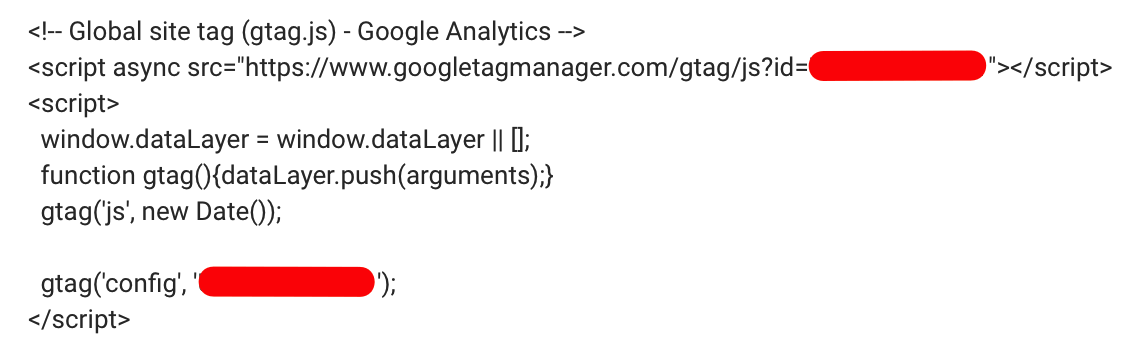 Google analytics site tag manager
