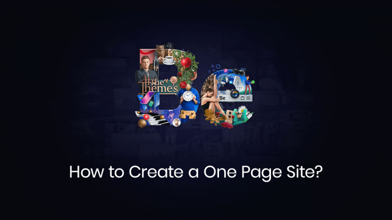 how to create a page page site