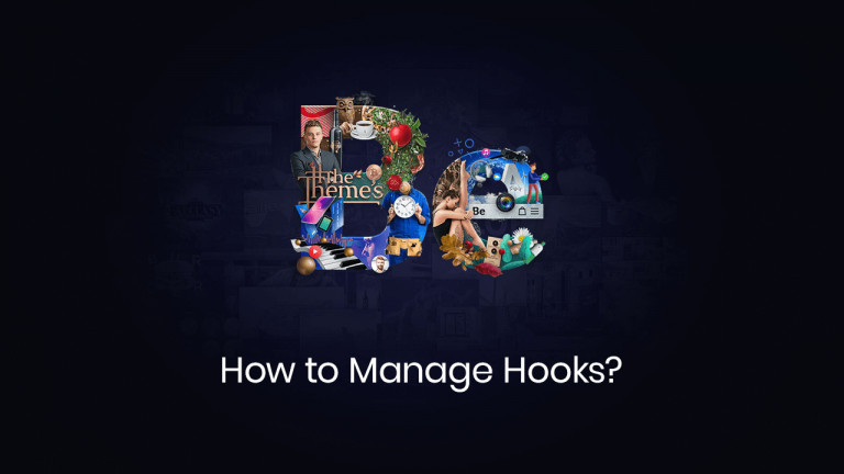 how to manage hooks