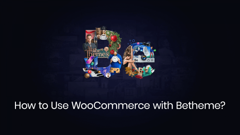 how to use woocommerce with betheme