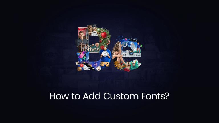 How to add custom fonts