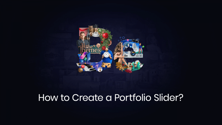 How to create a portfolio slider