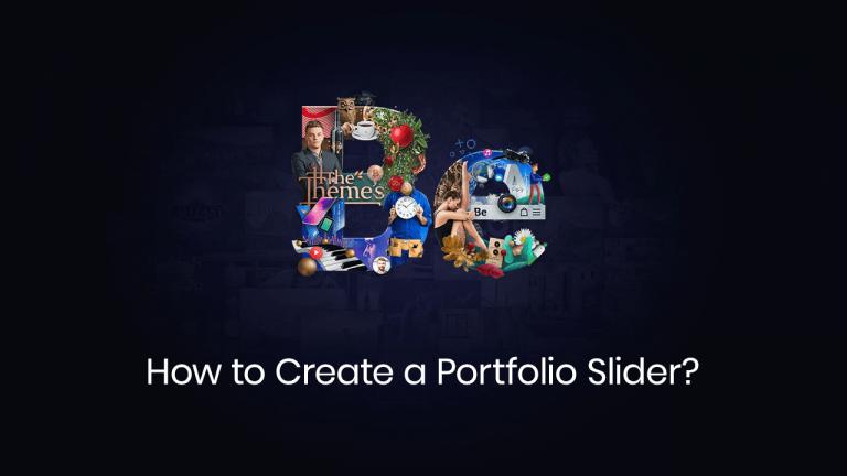 How to create a portfolio slider
