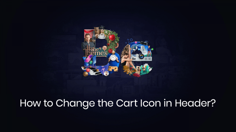 How to change cart icon in header