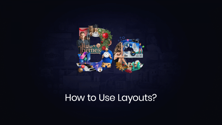 how to use layouts
