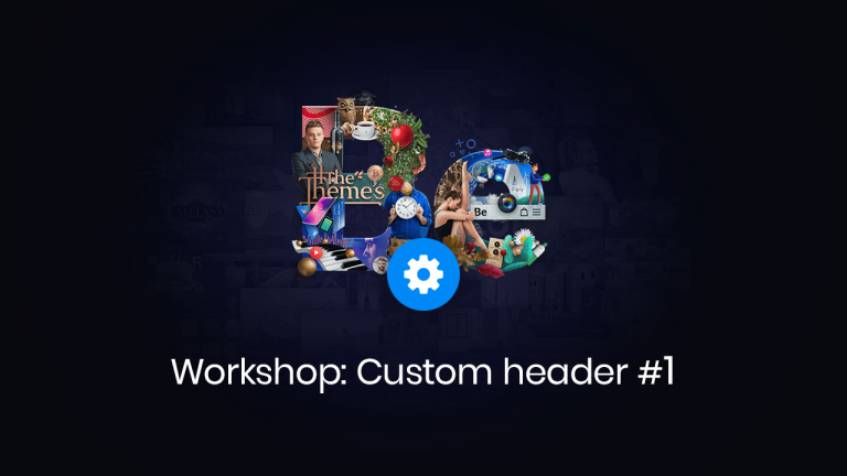 workshop custom header #1