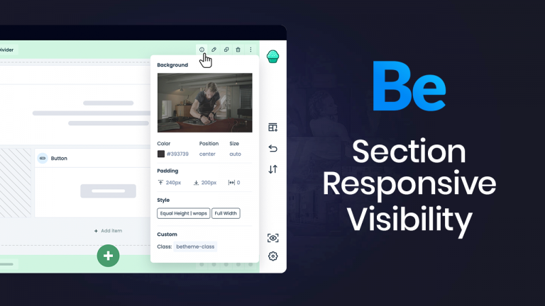 Section Responsive Visibility